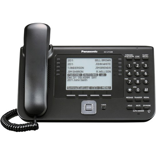 Panasonic IP Phone KX-UT248-B