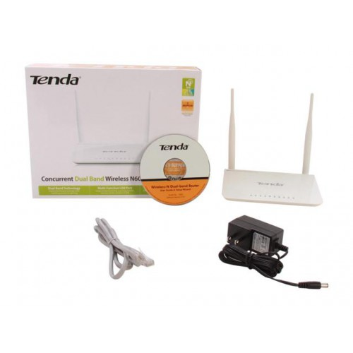 Tenda N600 Concurrent Dual Band Wireless N Gigabit Router