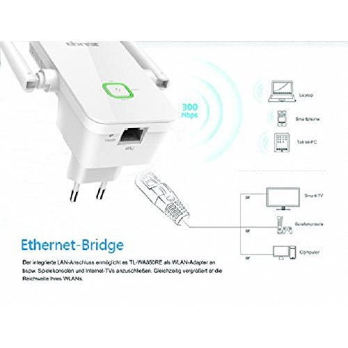 Tenda A301 Wireless N300 Universal Range Extender