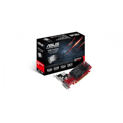 ASUS AMD Radeon R5 230 PCI Express 2.1 DDR3 1GB 625 MHz 1200 MHz ( 600 MHz DDR3 ) 64- Graphics Card