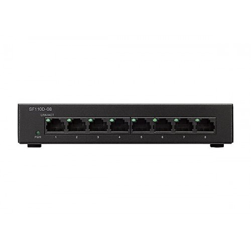 Cisco Small Business SF110D-08 - switch - 8 ports - unmanaged