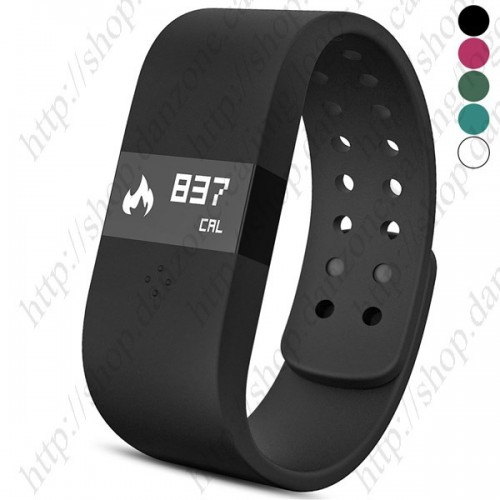 DigiCare ERI Sports LED Touch Screen Silicone Smart Bracelet Bluetooth 4.0 Waterproof Watch for IOS/Android