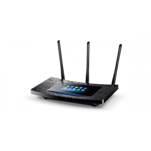 TP-LINK Touch Screen Ph AC1900 1GHz DUAL-CORE 1300MBPS AT 5GHZ 600MBPS AT 2.4GHZ Beamforming Router
