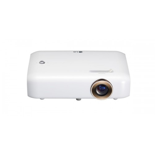 LG PH550 Minibeam With Built In Battery Bluetooth Sound Out and Screen Share LED Projector