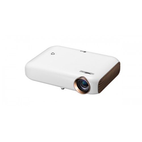 LG PW1500 1500 Lumen Minibeam LED With Screen Share and BT Sound Out DLP Projector