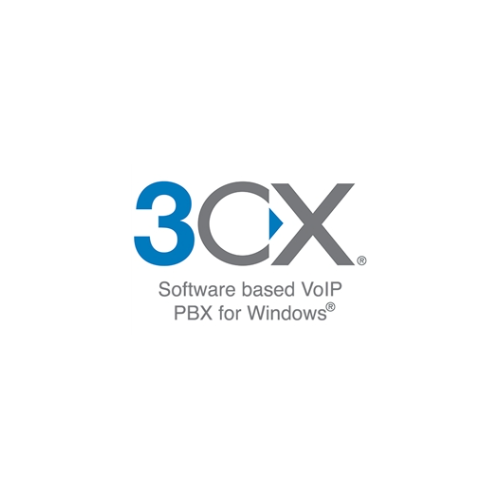 3CX Software based VoIP PBX for WIndows - 4 Simultaneous Calls