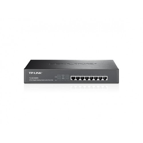TP-Link 8-Port Gigabit Desktop/Rackmount Switch with 8-Port PoE+